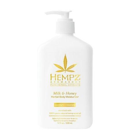 "Hempz Milk & Honey Herbal Body Moisturizer - Молочко для тела увлажняющее ""Молоко и Мёд"" 500мл"
