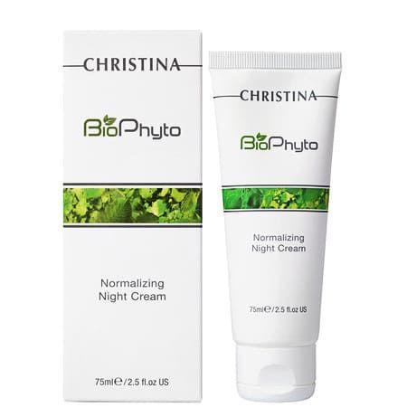 Christina Bio Phyto Normalizing Night Cream - Ночной крем нормализующий 75мл