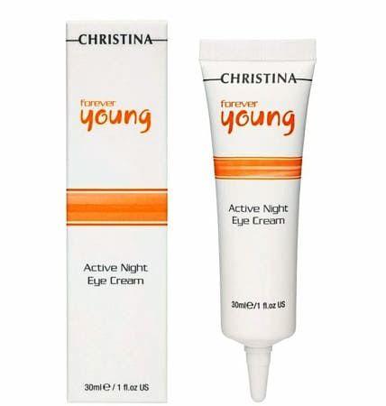 Christina Forever Young Active Night Eye Cream - Активный Ночной крем для кожи вокруг глаз 30мл