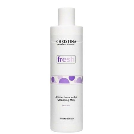 Christina Fresh Aroma Therapeutic Cleansing Milk for dry skin – Ароматерапевтическое очищающее молочко для сухой кожи 300мл