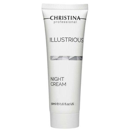 Christina Illustrious Night Cream - Обновляющий ночной крем 50мл