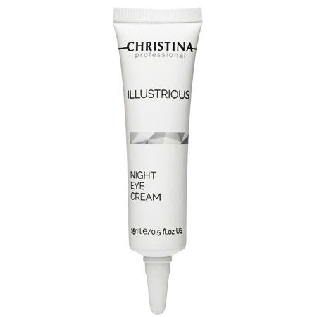 Christina Illustrious Night Eye Cream - Омолаживающий ночной крем для кожи вокруг глаз 15мл