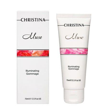 Christina Muse Illuminating Gommage - Отшелушивающий гоммаж для сияния кожи 75мл