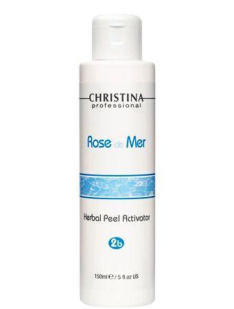 Christina Rose de Mer Herbal Peel Activator – Натуральный активатор для разведения порошка (шаг 2b) 150мл