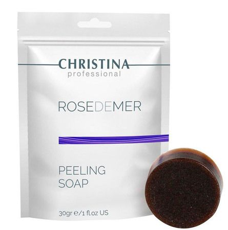 Christina Rose de Mer Peeling Soap - Пилинговое мыло «Роз де Мер» 30гр