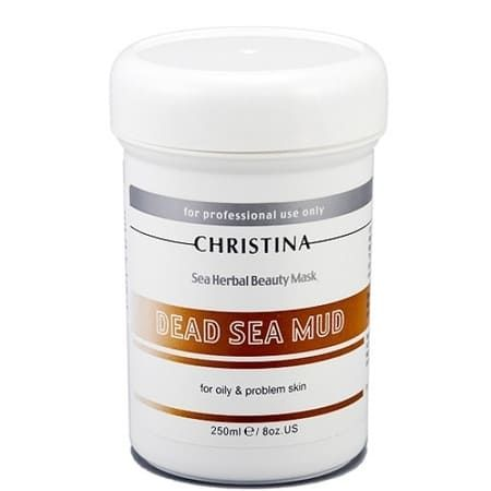 "Christina Sea Herbal Beauty Dead Sea Mud Mask for oily & problem skin - Маска красоты для жирной и проблемной кожи ""Грязь Мертвого моря"" 250мл"