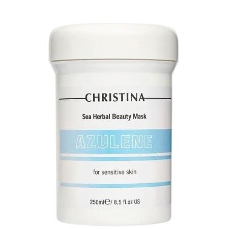 "Christina Sea Herbal Beauty Mask Azulene for sensitive skin - Маска красоты для чувствительной кожи ""Азулен"" 250мл"
