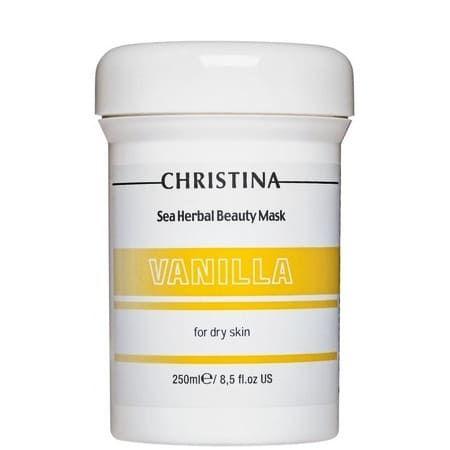 "Christina Sea Herbal Beauty Mask Vanilla for dry skin - Маска красоты для сухой кожи ""Ваниль"" 250мл"