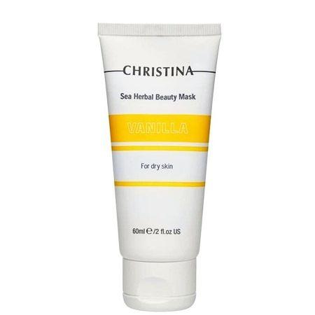 Christina Sea Herbal Beauty Mask Vanilla for dry skin – Маска красоты для сухой кожи «Ваниль» 60мл