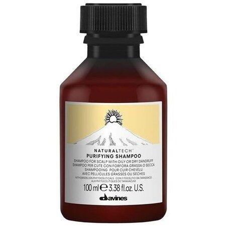 Davines New Natural Tech Purifying Shampoo - Шампунь Давинес очищающий против перхоти 100мл