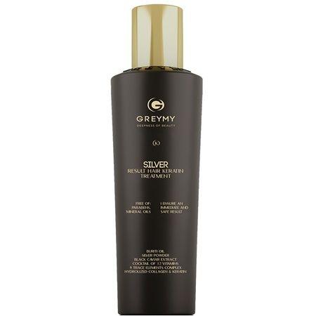 Greymy Silver Result Hair Keratin Treatment - Кератиновый крем для восстановления и выпрямления волос 500мл