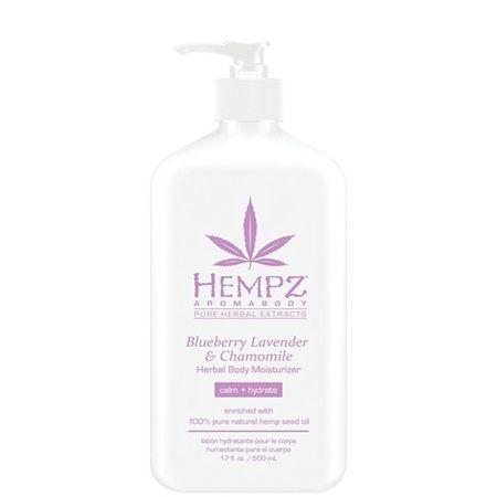 "Hempz Blueberry Lavender & Chamomile Herbal Body Moisturizer - Молочко для тела увлажняющее ""Лаванда, Ромашка и Дикие Ягоды"" 500мл"