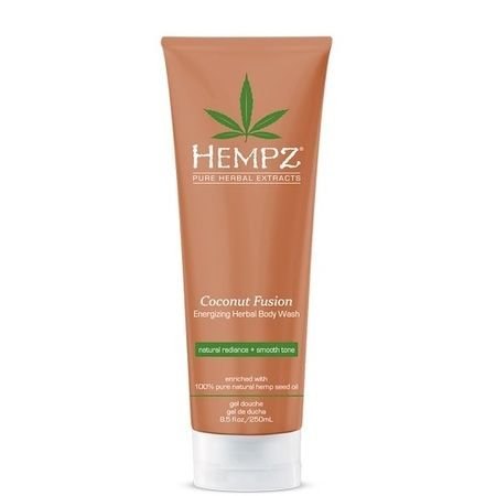 "Hempz Coconut Fusion Energizing Herbal Body Wash - Гель для душа ""Бодрящий Кокос"" 250мл"