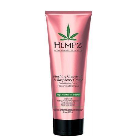 "Hempz Daily Herbal Moisturizing Pomegranate Shampoo - Шампунь растительный легкой степени увлажнения ""Гранат"" 265мл"