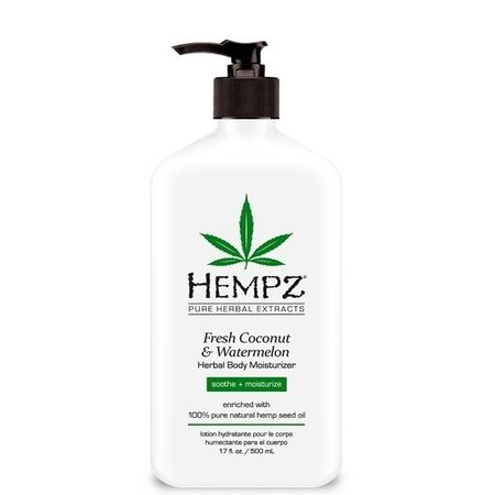 "Hempz Fresh Coconut & Watermelon Herbal Moisturizer - Молочко для тела увлажняющее ""Кокос и Арбуз"" 500мл"