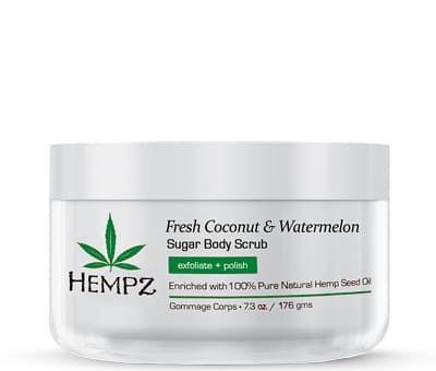 """Hempz Fresh Coconut & Watermelon Sugar Body Scrub - Скраб для тела """"Кокос и Арбуз"""" 176гр"""