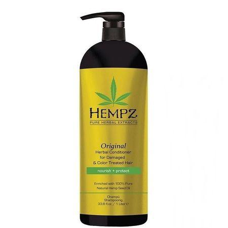 """Hempz Original Herbal Conditioner For Damaged & Color Treated Hair - Кондиционер растительный """"Оригинальный"""" для поврежденных окрашенных волос 1000мл"""