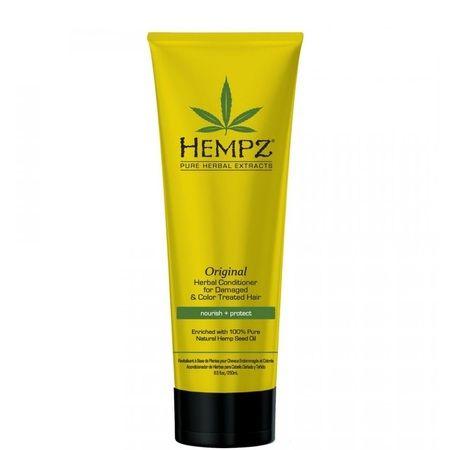 """Hempz Original Herbal Conditioner For Damaged & Color Treated Hair - Кондиционер растительный """"Оригинальный"""" для поврежденных окрашенных волос 265мл"""