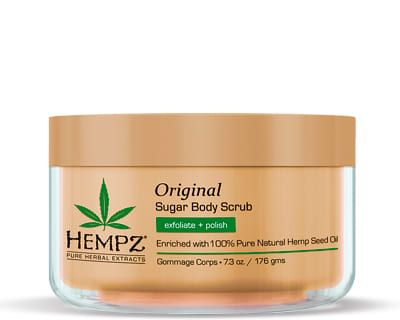 """Hempz Original Herbal Sugar Body Scrub - Скраб для тела """"Оригинальный"""" 176гр"""