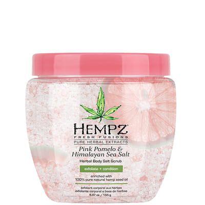 "Hempz Pink Pomelo & Himalayan Sea Salt Herbal Body Salt Scrub - Скраб для тела ""Помело и Гималайская соль"" 155гр"