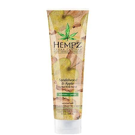 "Hempz Sandalwood & Apple Hebal Body Scrub - Скраб для тела ""Сандал и Яблоко"" 265мл"