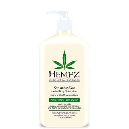 """Hempz Sensitive Skin Herbal Moisturizer - Молочко для тела увлажняющее """"Чувствительная Кожа"""" 500мл"""