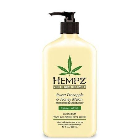 "Hempz Sweet Pineapple & Honey Melon Herbal Body Moisturizer - Молочко для тела увлажняющее ""Ананас и Медовая Дыня"" 500мл"