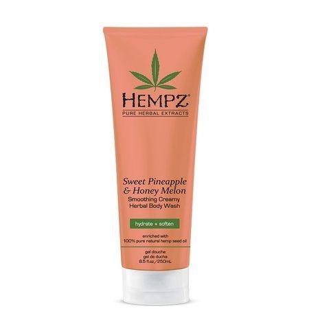 """Hempz Sweet Pineapple & Honey Melon Herbal Body Wash - Гель для душа """"Ананас и Медовая Дыня"""" 250мл"""