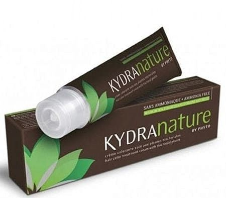 "Kydra Nature Mahogany Brown - Крем-краска для волос 4/75 ""Махагоновый Шатен"" 60мл"